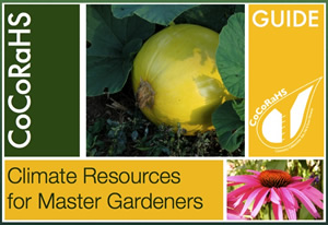 Climate Resources for Master Gardeners Guide